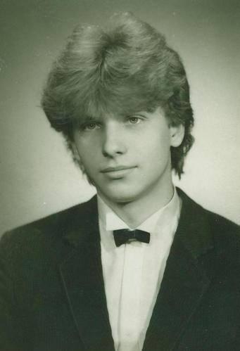 maturitní fotografie - 1985