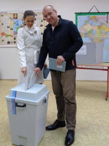 volby 2017 u urny
